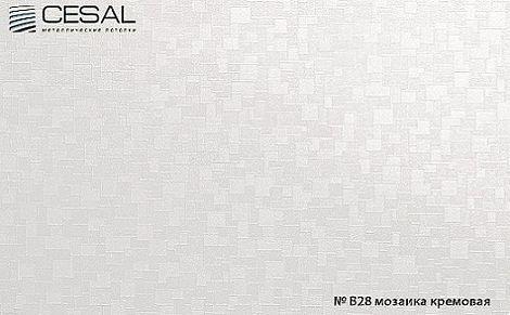 Кассета Cesal 300х300 мозаика кремовая B28