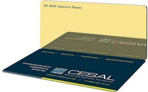 Кассета Cesal 300х300 золото Люкс А09