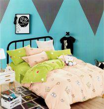 Комплект постельного белья Сатин  KARNA 1,5-спальный детский Арт.467/39