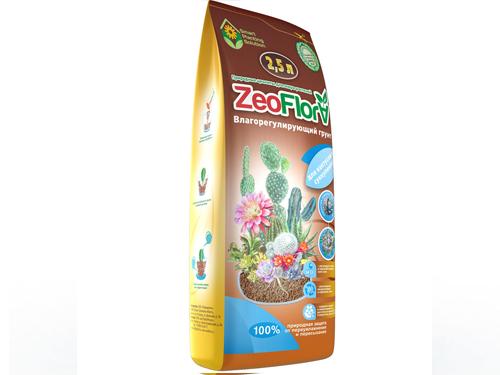 """Грунт для кактусов и суккулентов """"ZeoFlora"""" 2,5л"""