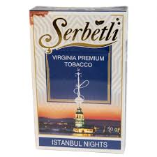 Табак Serbetli - Istanbul Nights (Стамбульские Ночи, 50 грамм)