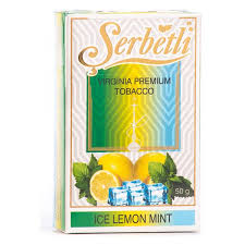 Табак Serbetli - Ice Lemon Mint (Лимон Мята со Льдом, 50 грамм)