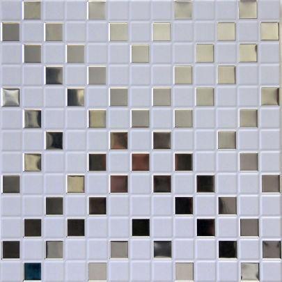 Кассета Caveen 300х300 М001 мозаика белая