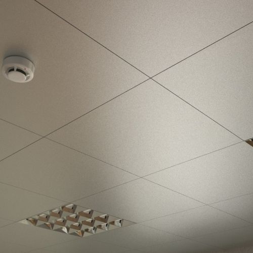 Потолок кассетный Cesal 3313 Металлик Серебристый 600x600 мм.
