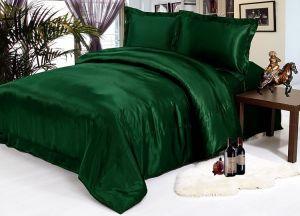 Комплект постельного белья из декоративного шелка  1023-04