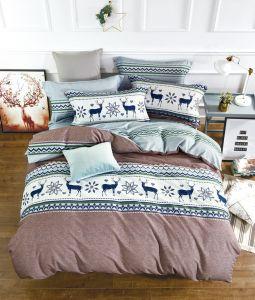Кпб Фланель 1,5-спальный 2 наволочки