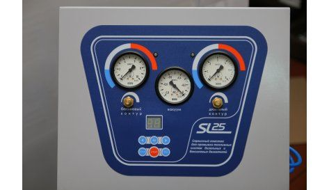 Темп SL-025 установка для промывки инжекторов 2 контура (бен/диз)