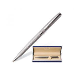 Ручка шариковая подарочная поворотная в кожзам футляре GALANT Freiburg, чернила синие