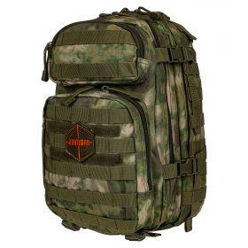 Рюкзак тактический HUNTSMAN RU 070 ткань Оксфорд 30л Малахит