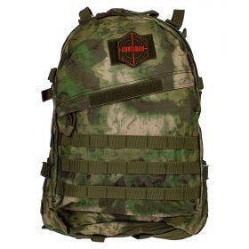 Рюкзак тактический HUNTSMAN RU 010 ткань Оксфорд 45 л Малахит