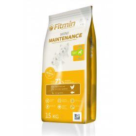 Fitmin Mini Maintenance Сухой корм для взрослых собак малых пород, с средним уровнем активности, 1,5 кг