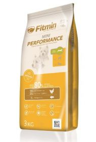 Fitmin Mini Perfomance Сухой корм для взрослых собак малых пород, с повышенным уровнем активности, 3 кг