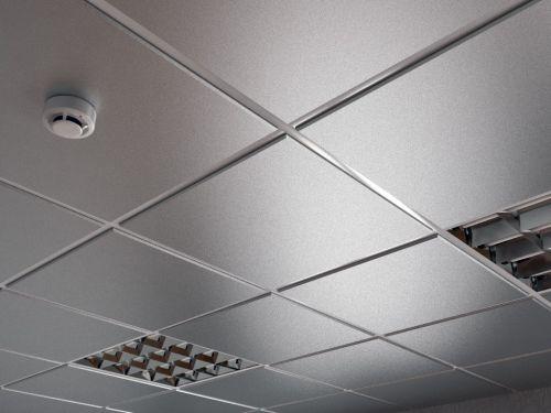 Потолок кассетный армстронг Cesal Tegular K90 3313 Металлик Серебристый Profi 595х595 мм