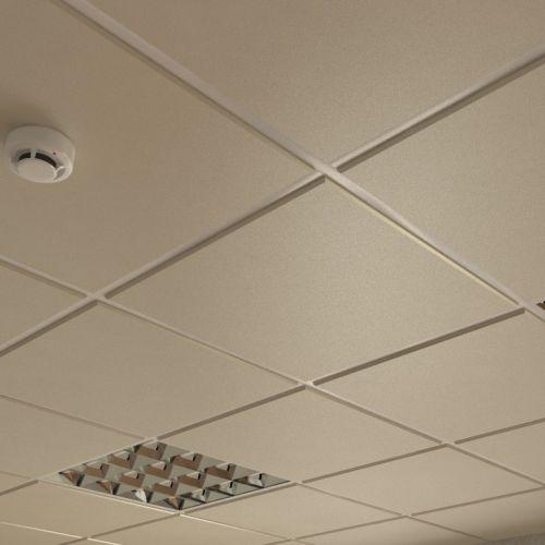 Потолок кассетный армстронг Cesal Tegular K90 010B Золотистый Жемчуг 595х595 мм