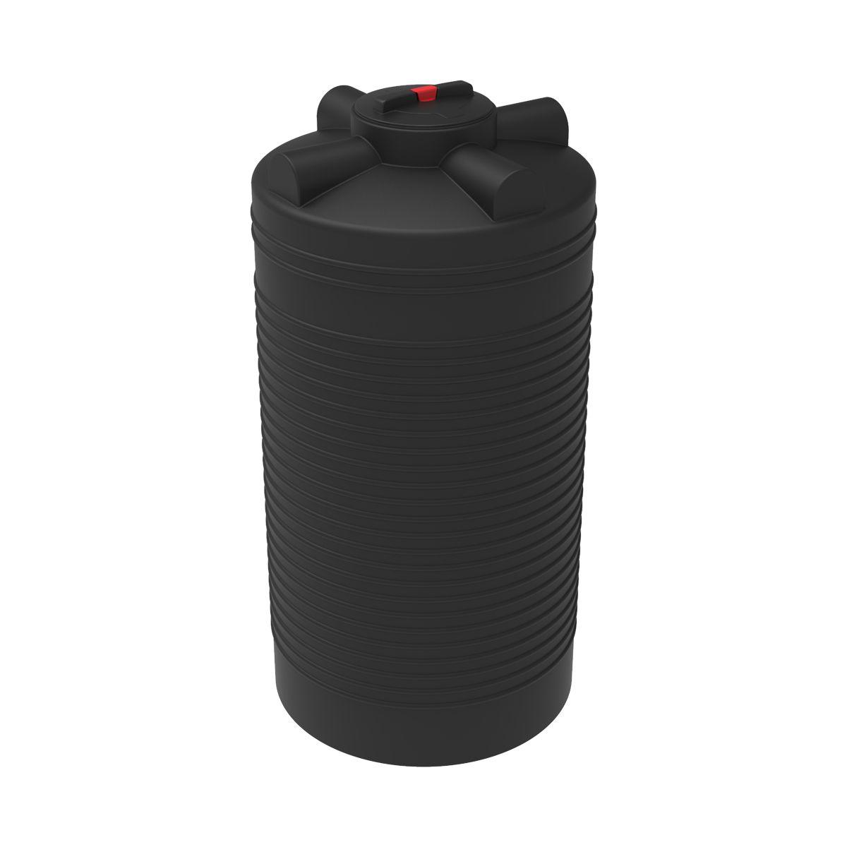 Емкость для воды ЭВЛ-Т 1000 литров пластиковая черная