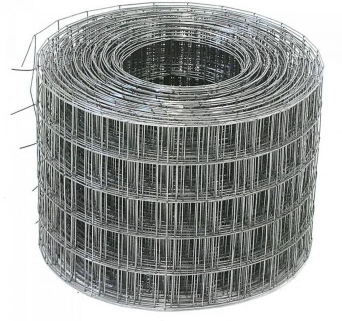 Сетка кладочная 50х50х1.6 мм, рулон 0.5х50 м