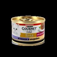 Gourmet Gold Мясной тортик с индейкой и ягненком, 85г