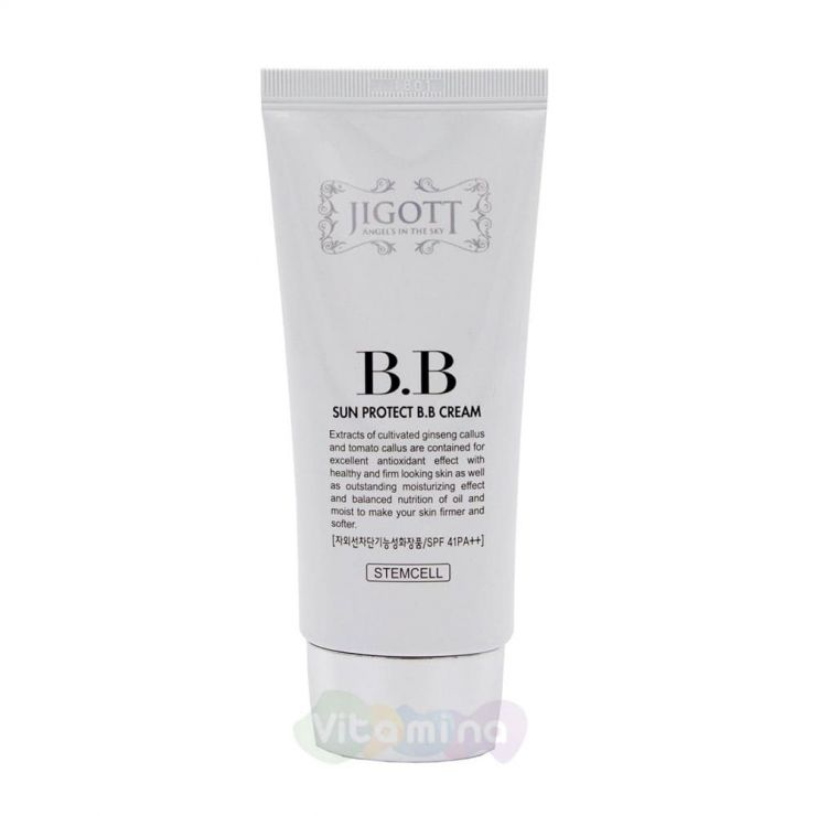 Jigott Солнцезащитный ВВ-крем Sun Protect B.B Cream SPF41 PA++, 50 мл