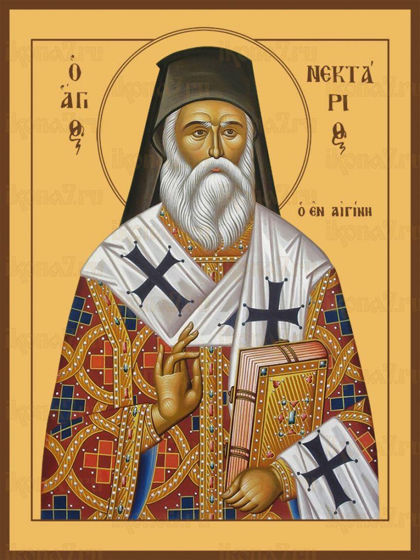 Икона Нектарий Эгинский преподобный