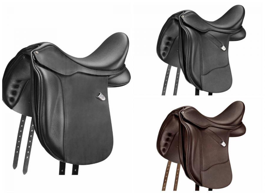 Седло Bates WIDE Dressage (CAIR) Для крупных лошадей