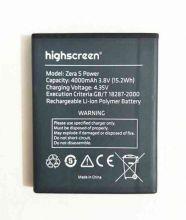 Аккумулятор для телефона Highscreen Zera S Power 4000 mAh