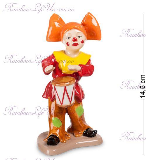 """Фигурка Клоун с барабаном CMS-23/44 """"Pavone"""""""