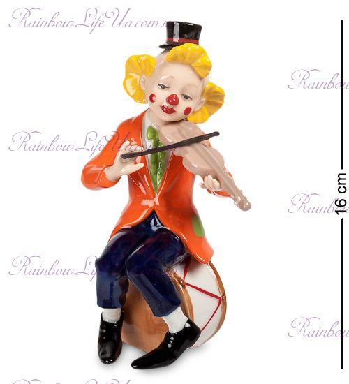 "Фигурка Клоун со скрипкой CMS-23/42 ""Pavone"""