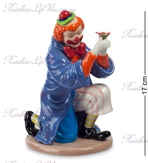 """Фигурка Клоун с цветком CMS-23/49 """"Pavone"""""""