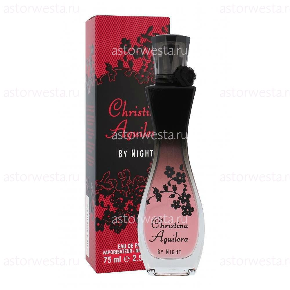 Christina Aguilera By Night, 75 ml. Парфюмерная вода