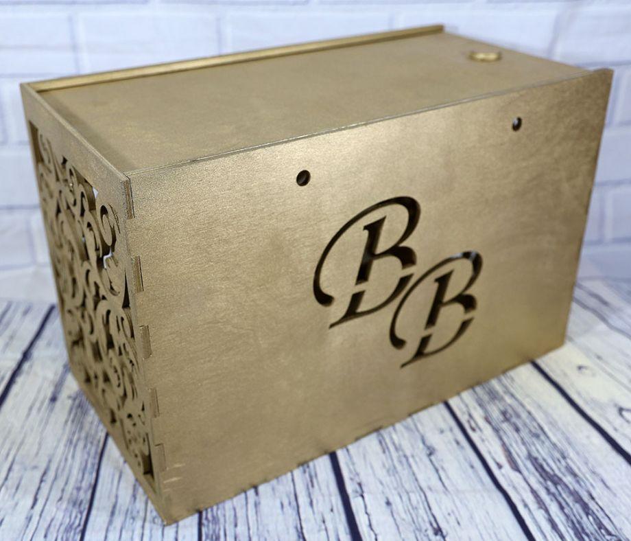Коробка пенал свадебная для подарка