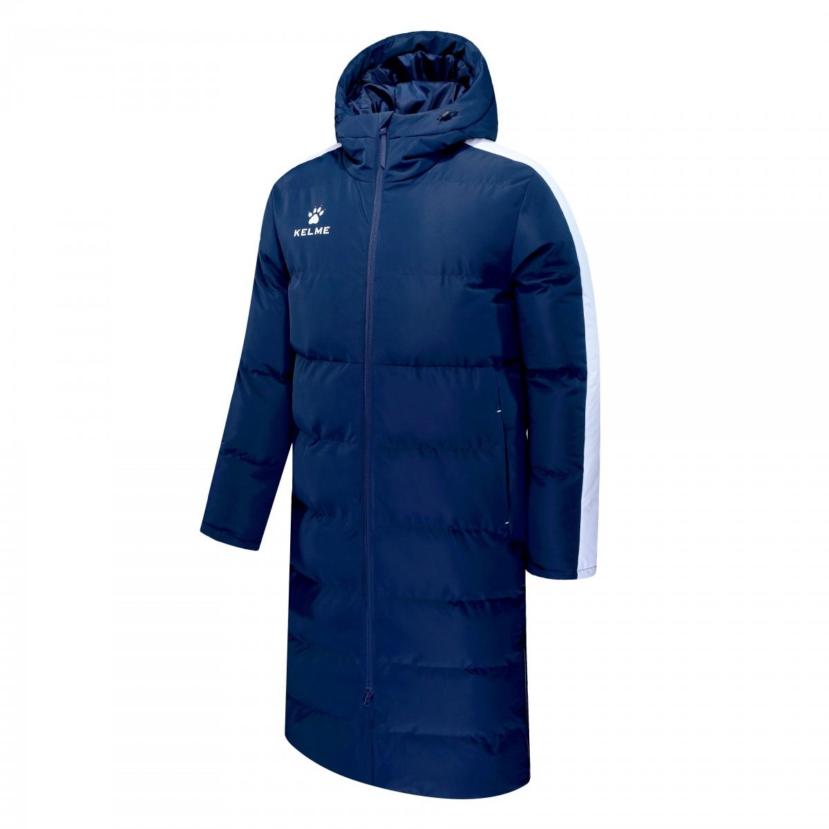 Куртка Kelme Padding Jacket(Adults) тёмно-синяя, размер XXL, артикул 3881406-424