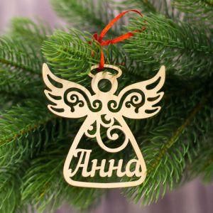 """Подвеска на елку ангел """"Анна"""""""