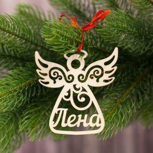 """Подвеска на елку ангел """"Лена"""""""