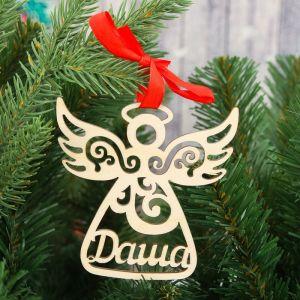 """Подвеска на елку, ангел """"Даша""""   3825763"""
