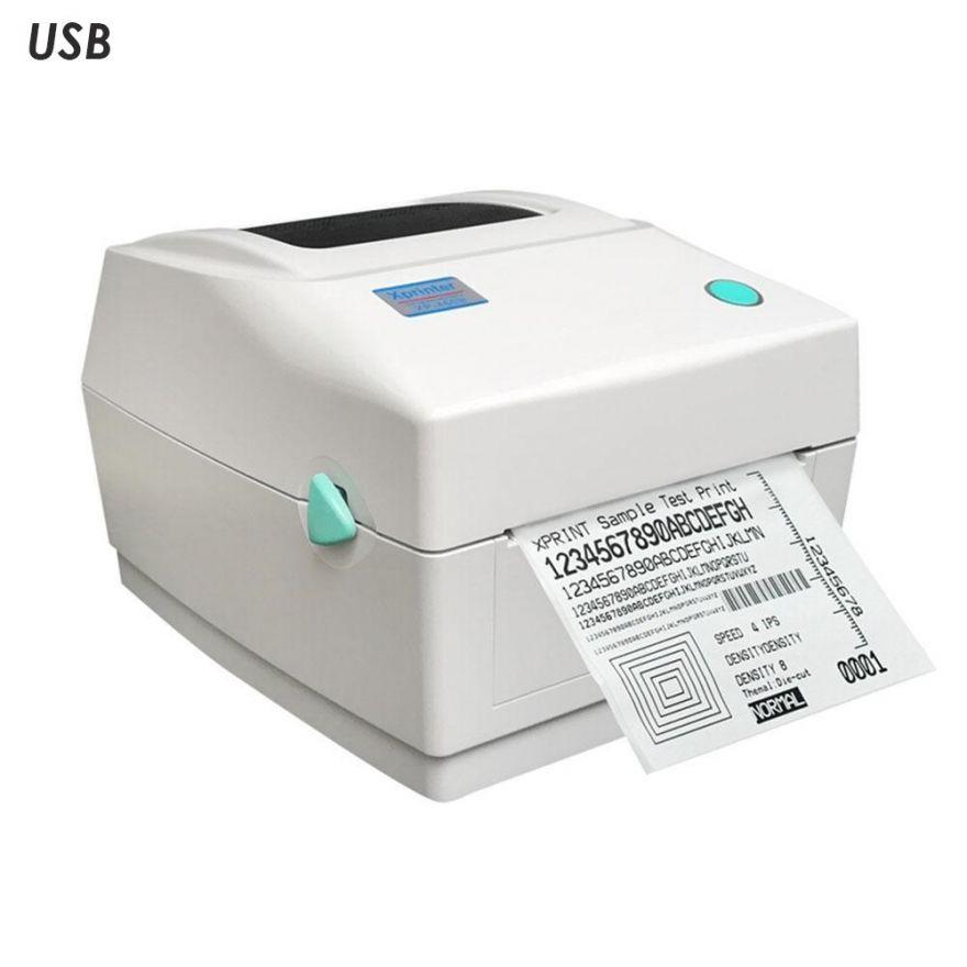 Термальный принтер этикеток Xprinter XP-460B белый