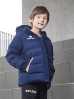 Детская куртка Kelme Padding Jacket kid темно-синяя, рост 140, артикул 3893421-416