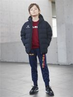 Детская куртка Kelme Padding Jacket kid чёрная, рост 130, артикул 3893421-000