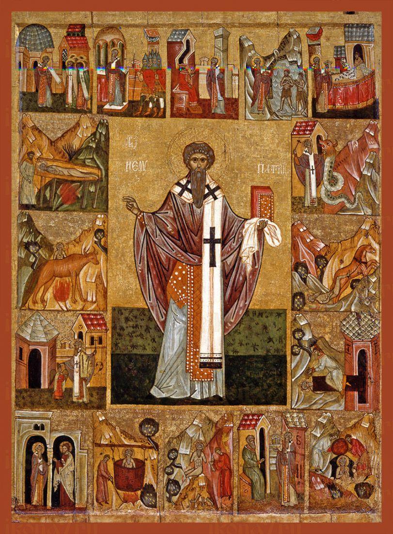 Икона Ипатий Гангрский Священномученик