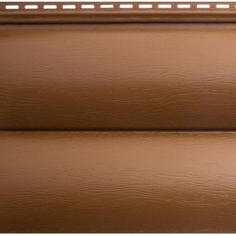 Сайдинг акриловый Альта-Профиль Blockhouse BH-03 Дуб светлый 3100х226 мм