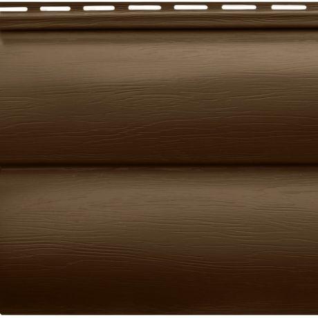 Сайдинг акриловый Альта-Профиль Blockhouse BH-03 Орех темный 3100х226 мм