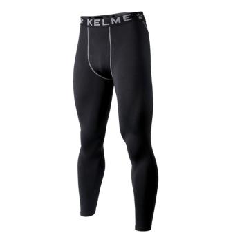 Брюки KELME Tight Trousers Kid Thick, черные, рост 140, артикул K15Z736-000