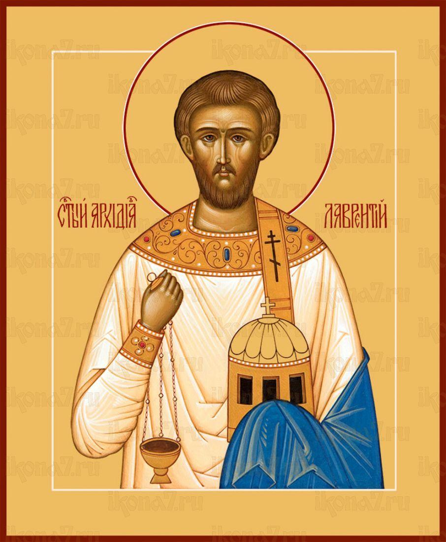 Икона Лаврентий Римский преподобный