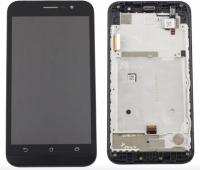 LCD (Дисплей) Asus ZB500KG ZenFone Go (в сборе с тачскрином) (в раме) (black) Оригинал