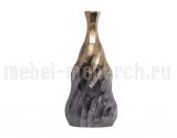 Ваза металлическая черно-золотистая 71PN-1231