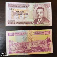 Банкнота 100 франков 2011 года - Бурунди