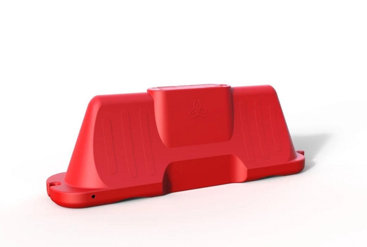 Дорожный блок 2000 Оптимум красный