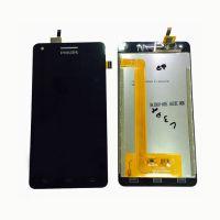 LCD (Дисплей) Philips Xenium V377 (в сборе с тачскрином) (black) Оригинал
