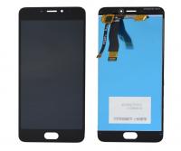 LCD (Дисплей) Meizu M5 Note (в сборе с тачскрином) (black)