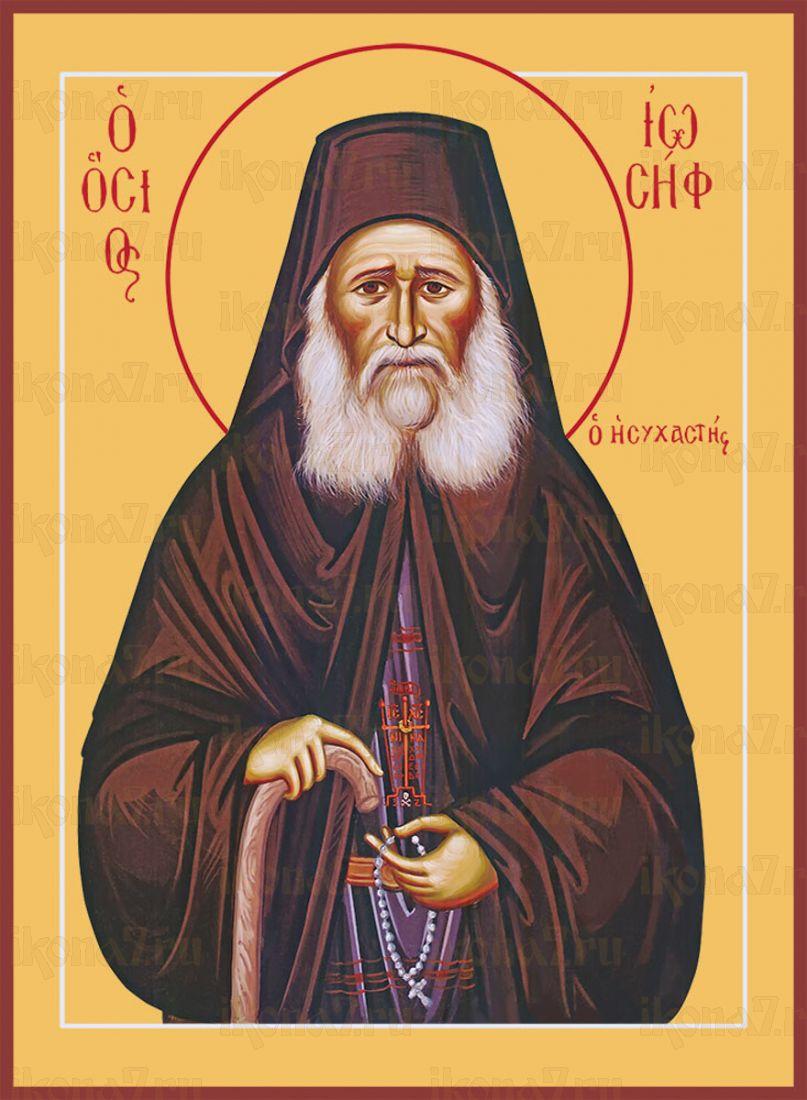 Икона Иосиф Исихаст преподобный