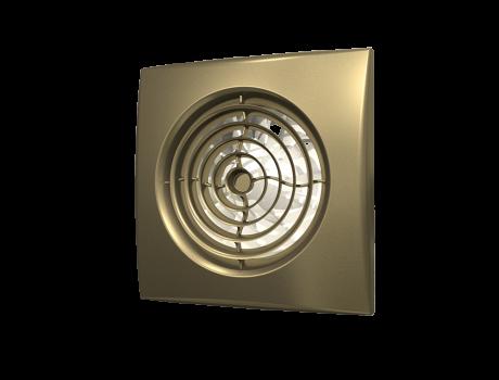 AURA 4C Chrome, Вентилятор осевой вытяжной с обратным клапаном D 100